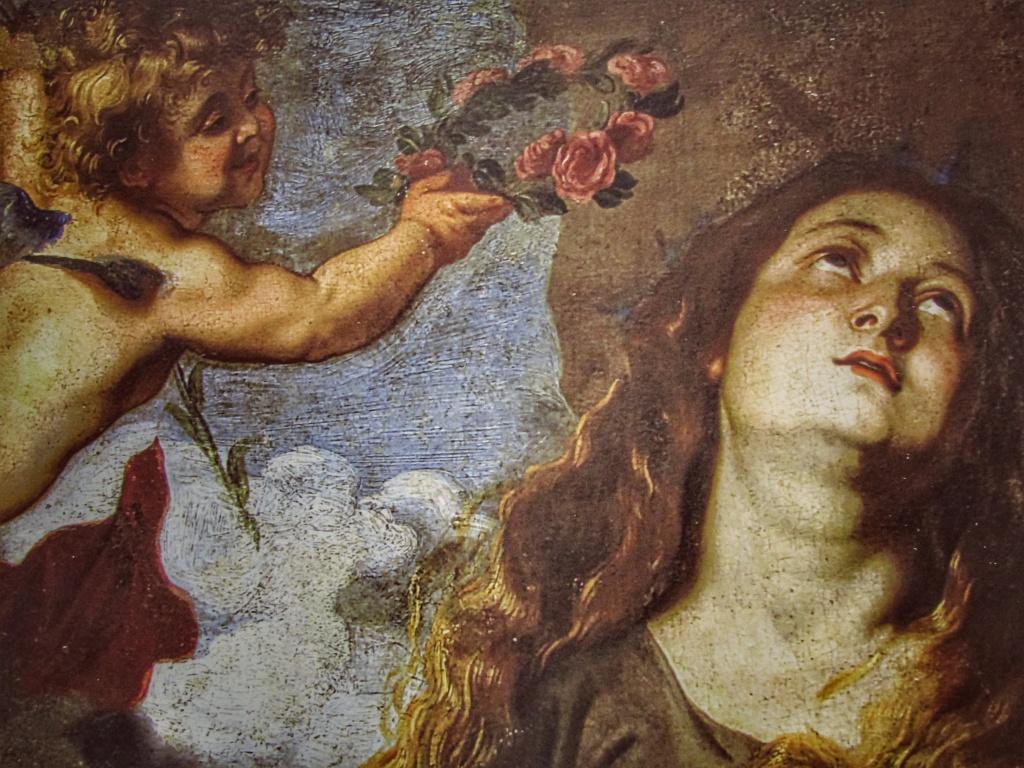 Santa Rosalia incoronata dagli angeli - Antoon Van Dyck