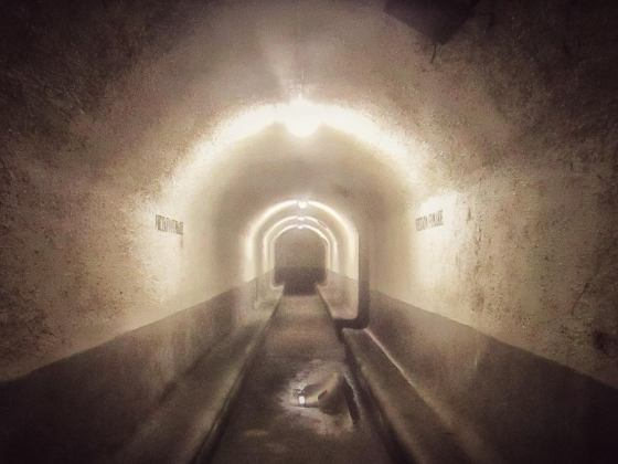 Interno di rifugio antiaereo a Palermo ph ©Patrizia Grotta