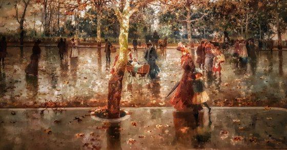GAM Palermo - Ultime foglie di Michele Catti
