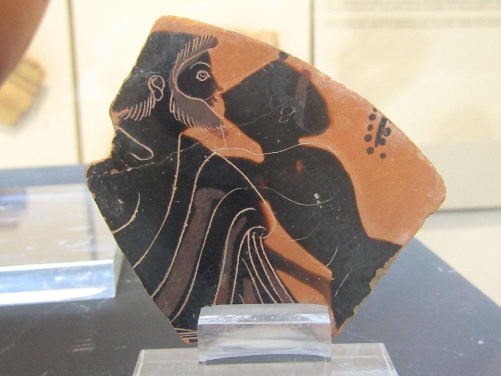 Il bacio lungo 2500 anni e più al museo Salinas di Palermo