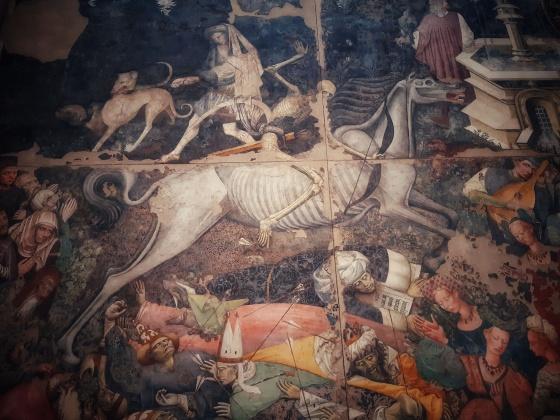 Il trionfo della morte . Palazzo Abatellis