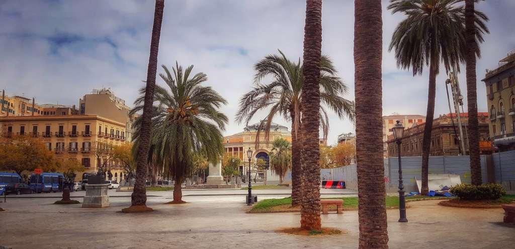 Palermo deserta al tempo del coronavirus