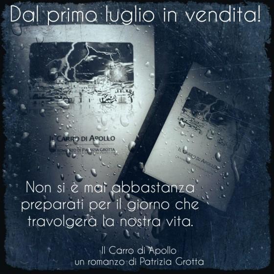 Il Carro di Apollo, romanzo di Patrizia Grotta