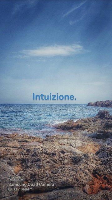 Intuizione.